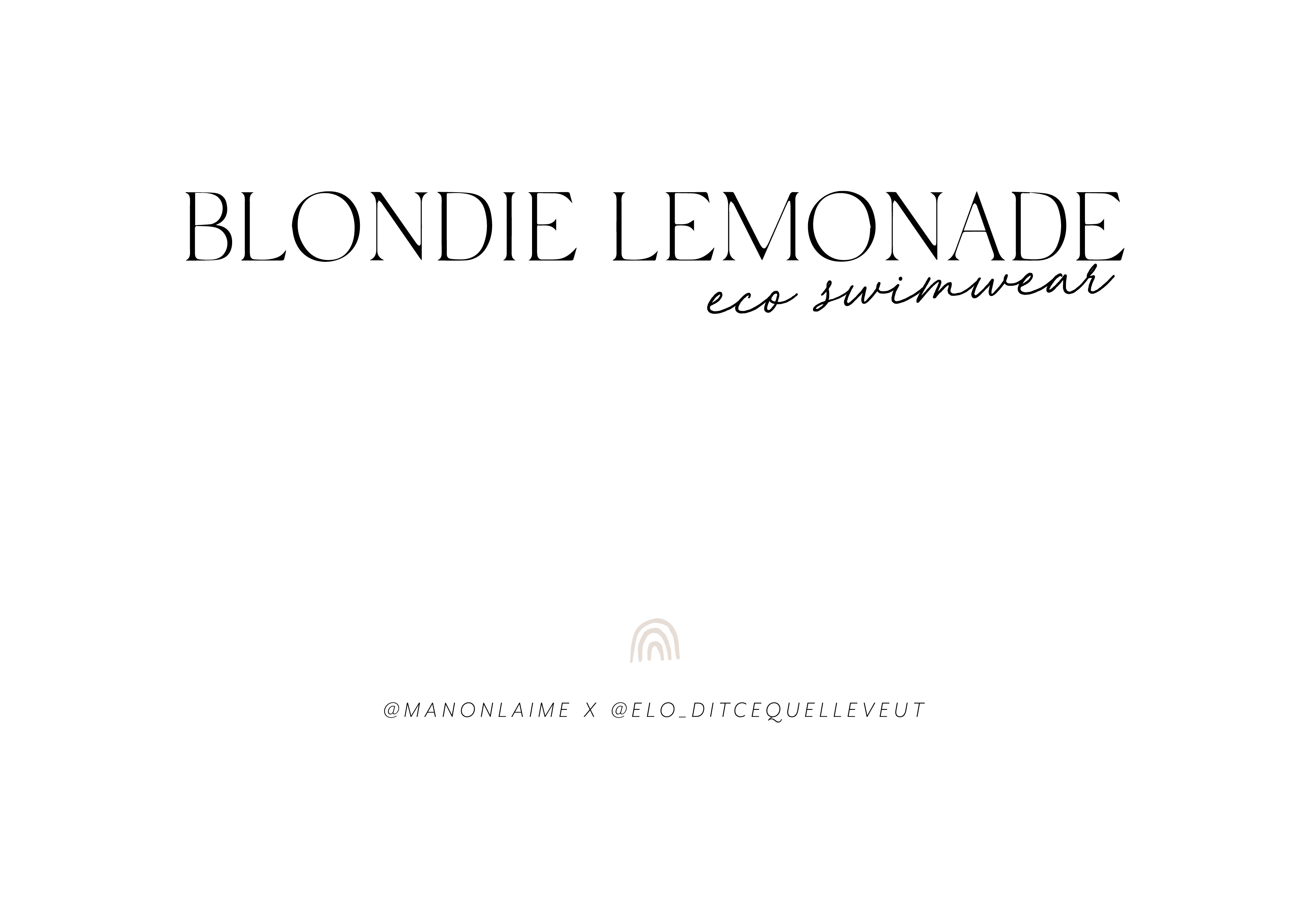 Blondie Lemonade-